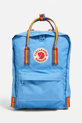 Fjallraven Kanken Air Blue Rainbow Backpack - Assorted ALL at Urban Outfitters