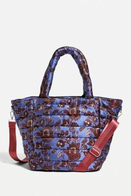 HVISK Valley Medium Papercut Tote Bag - Purple ALL at Urban Outfitters