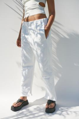 MM6 White Garment Dyed Joggers - White M at Urban Outfitters
