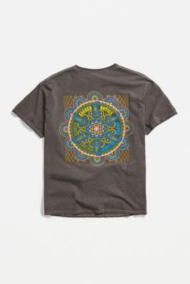 UO Brown Sacred Geo Print T-Shirt - Brown L at Urban Outfitters