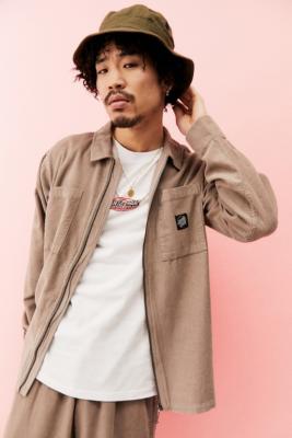 Santa Cruz UO Exclusive Taupe El Jefe Shirt - Brown S at Urban Outfitters