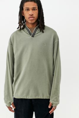 UO Nomad Green Hiking Sweatshirt - Green XL at Urban Outfitters