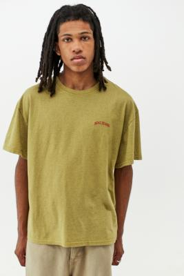 BDG Yellow Recycled T-Shirt - Yellow S at Urban Outfitters