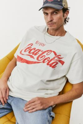Urban Outfitters Archive White Coca Cola T-Shirt - White S at Urban Outfitters