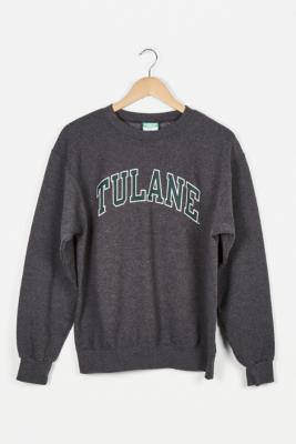 Urban Renewal Vintage Grey Pro Sport Sweatshirt - Grey L/XL at Urban Outfitters