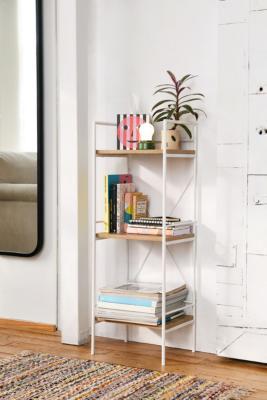 Jones Bookshelf - White ALL at Urban Outfitters