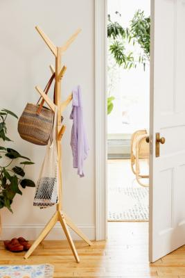 Levy Coat Rack - Beige ALL at Urban Outfitters