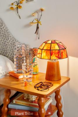 Mushroom Glass Table Lamp - Assorted ALL at Urban Outfitters