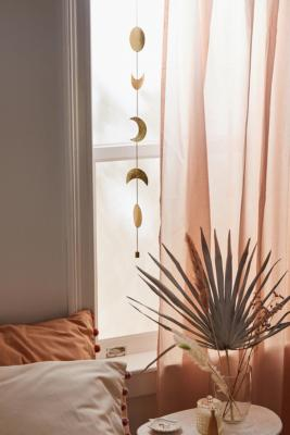 Celestial Shapes Gold Metal Banner - Gold ALL at Urban Outfitters